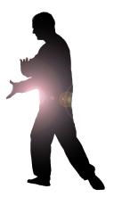 silhouette tai chi